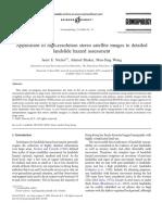Geomorphology Volume 76 issue 1-2 2006 [doi 10.1016%2Fj.geomorph.2005.10.001] Janet E. Nichol; Ahmed Shaker; Man-Sing Wong -- Application of high-resolution stereo satellite images to detailed landsli.pdf