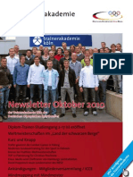 Trainerakademie Newsletter 10 2010