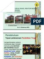 Panduan bagi wakil rektor dan wakil direktur bidang kemahasiswaan