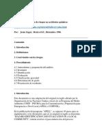 Método de Evaluación de Riesgos en Accidentes Químicos