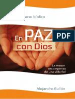 Curso Biblico - En Paz Con Dios - Alejandro Bullon