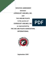 ExpressJet 2018 Pilot Contract