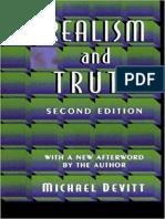 Michael Devitt - Realism and Truth