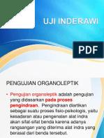metode pengujian organoleptik