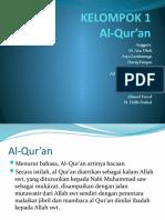 KELOMPOK 1 Agama Al-Qur'An