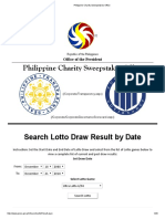 lottery results philippines