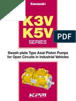 Kawasaki-K3V-K5V-Pumps Catalogue