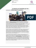 Winter School per far crescere l'autotrasporto pesarese - Vivere Pesaro.it, 13 gennaio 2019