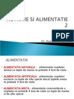 Nutritia si alimentatia curs pediatrie