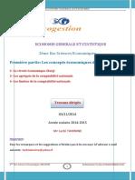 Circuit Économique Comptabilité Nationale Et Ses Limites PDF