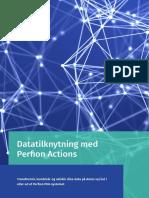 Datatilknytning med Perfion PIM