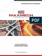 Maxmech Corporate Brochure