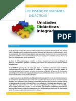 Modelos de Diseño de Unidades Didácticas Integradas
