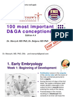 100 Concepts of Developmental and Gross Anatomy