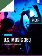 Us Music 360 Highlights