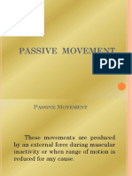 Passive Movement 1
