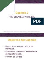 Cap 3 - Nicholson - Preferencias y Utilidad