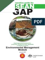 ASEAN GAP_Environmental Management Module