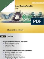 Electric Machine Design ANSYS Maxwell ToolkitTuTo