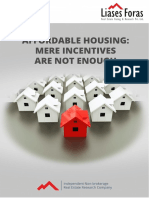Affordable Housing Mere Incentives Are Not Enough