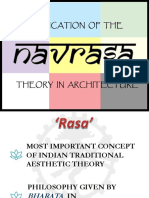 Application of the Navarasa Theory in Architecture.