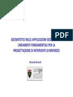 9 PGDT - Geosintetici RINFORZO-per Dispense
