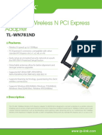TP-LINK TL-WN781ND Datasheet
