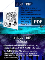 Field Trip (cone of experience)