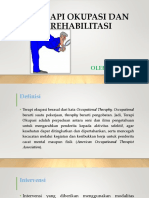 Ppt Terapi Okupasi Dan Rehabilitasi