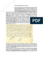 Cartas Cifradas en El Siglo Xv