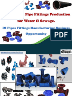 Ductile Iron Pipe Fittings Production