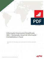 Informação Empresarial Simplificada (IES) / Declaração Anual de Informação Contabilistica e Fiscal
