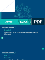 Plano de Aula EJA História da Arte