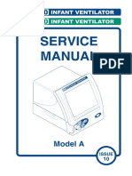 SLE 4000-5000 Infant Ventilator - Service Manual