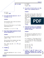 Mtap Elimintation With Answers