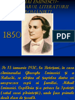 1 Mihai Eminescu Luceafarul Literaturii Romanesti