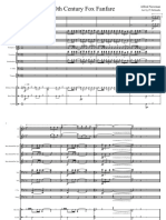 20th Century Fox Fanfare - Partitura Completa