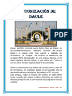CANTONIZACIÓN DE DAULE