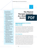 The Physical Therapist Assistance