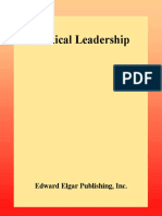 [New Horizons in Public Policy series] Howard J. Elcock - Political Leadership (2001, Edward Elgar Pub).pdf