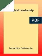 [New Horizons in Public Policy series] Howard J. Elcock - Political Leadership (2001, Edward Elgar Pub).pdf