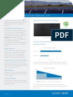 SunPower P19 Product Data Sheet