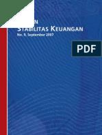 Bank Indonesia, Kajian Stabilitas Keuangan No. 9, September 2007