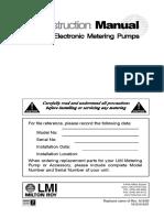 LMI Pump Manual