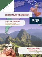 Teoria da Literatura II Vol. 03 Prosa