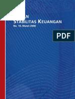 Bank Indonesia, Kajian Stabilitas Keuangan No.10, Maret 2008
