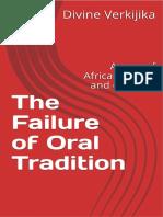 Failure of Oral Tradition - Divine Verkijika