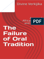 Failure of Oral Tradition - Divine Verkijika