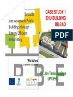 10.Unit 3 Case Studies UPV EHU Building EHU