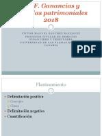 2018. Teoría 7. IRPF. Ganancias y pérdidas patrimoniales